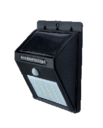 Anern solarna LED lampa s lithium baterijom 40w