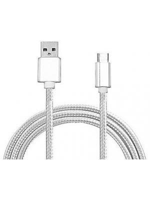 Mikro usb pleteni data kabel, 1.5m, bijeli