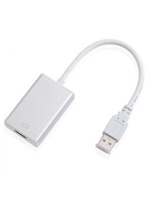 Optimus adapter konverter, usb 3.0 na HDMI, 0.2m, bijela
