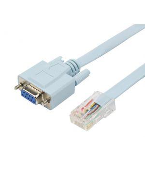 Optimus adapter kabel RS232 na Lan RJ45, plava