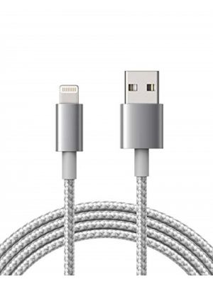 Optimus Usb data kabel, najlonski pleteni, kompatibilno s Iphone 5/6/7/8/X, 1m, zlatni