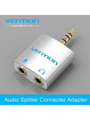 Vention audio adapter 1x3.5mm muški konektor na 2x3.5mm ženski konektor (audio i mikrofon izlaz)