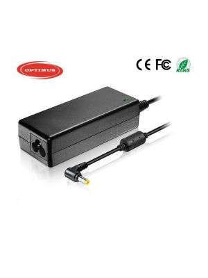 Optimus replacement laptop power charger adapter 65w (19v-3.42a), 100-240v, compatible with Gateway, 5.5x1.7mm connector