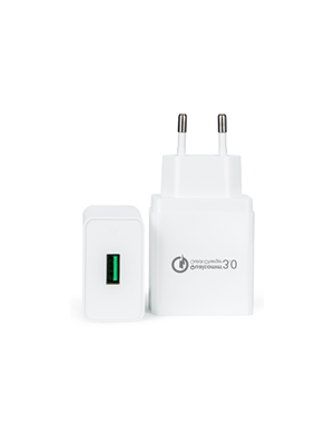 QC Qualcomm 3.0 brzi zamjenski usb punjač 18w, kompatibilno s Qiku