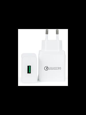 QC Qualcomm 3.0 brzi zamjenski usb punjač 18w (5v-3a, 9v-2a, 12v-1.5a), kompatibilno sa Samsung