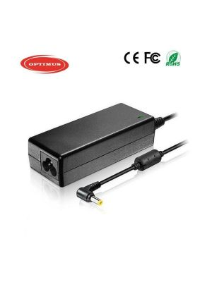 Optimus replacement laptop&tablet power charger adapter 19v 1.58a, 30w 100-240v 50-60Hz compatible with Gateway 5.5x1.7mm connector
