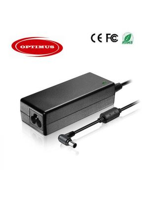 Optimus replacement laptop power charger adapter 65w 16v 4a 100-240v 50-60Hz compatible with Fujitsu Siemens 6.5x4.4mm connector