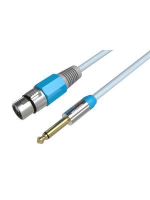 Vention audio kabel 6.5mm muški na XLR ženski, 2m