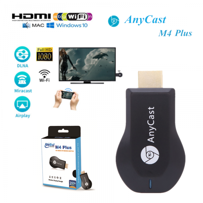 Anycast Wi-fi HDMI TV dongle M4 plus