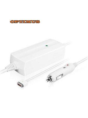 Optimus zamjenski 12/24v laptop auto punjač 85w (18.5v-4.6a) kompatibilno s Apple, magsafe magnetni konektor