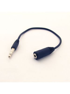 Optimus audio kabel  6.5mm, muški/muški, stereo, 10m, Crni
