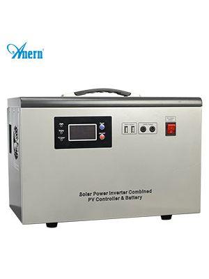 MPPT solarni prijenosni generator 500W, 2x150W solarni Poly panel, baterija 50AH