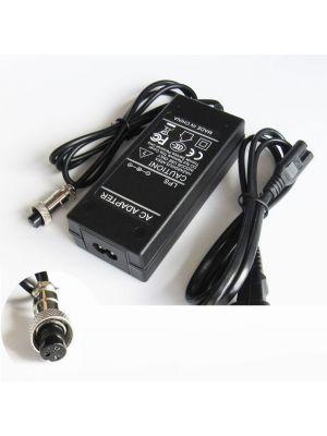 Optimus zamjenski električni skuter punjač 84w (42v-2a) 100-240v, kompatibilno s Boreem, 3 rupe 8.5mm konektor