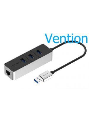 Vention usb HUB usb 3.0 na 3 porta usb 3.0+Lan RJ45