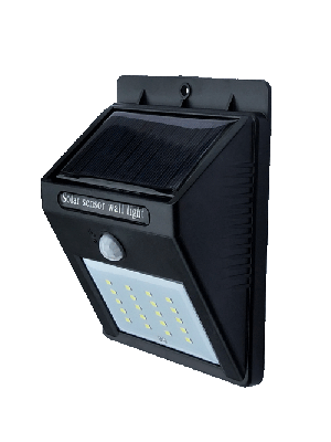 Anern Solar wall LED lamp with Lithium battery 40w