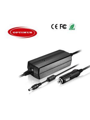 Optimus zamjenski laptop auto punjač 90w 19v 4.74a, 12/24v kompatibilno s Benq, 5.5x2.5mm konektor