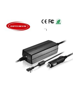 Optimus 12/24v laptop auto punjač 90w (19v-4.74a), 4.0x1.7mm konektor