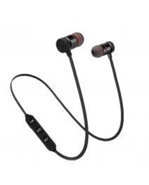 Bluetooth sport magnetic high fidelity stereo headphones V4.2