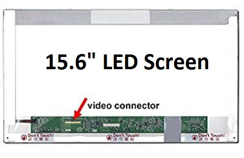 "Laptop TFT-LCD ekran panel, 15.6"" edp, 40pin, 1366*768, WLED osvjetljenje, donji lijevi konektor"